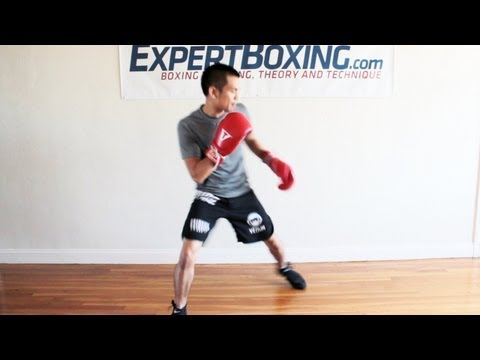 Boxing Footwork Tip - Moving In and Out Faster Image 1