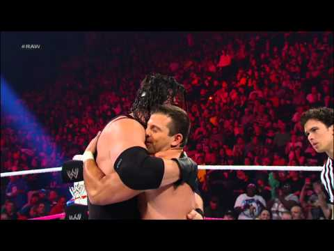 Kane vs. Matt Striker: Raw, Oct. 15, 2012