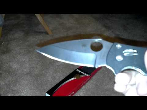 Review on spyderco manix 2