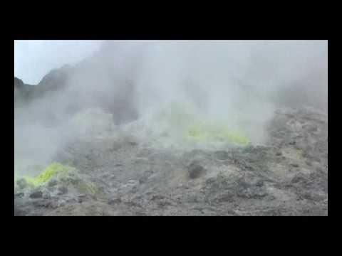 北海道 硫黄山 (活火山)