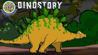 Stegosaurus - Dinosaur Songs from Dinostory by Howdytoons
