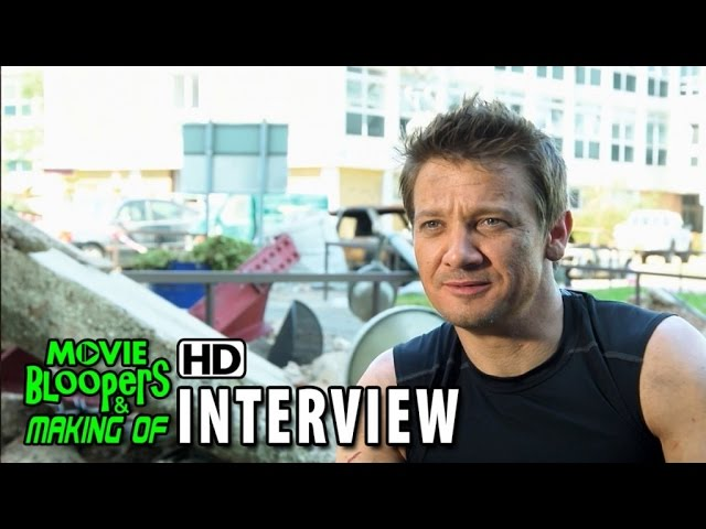Avengers: Age of Ultron (2015) BTS Movie Interview - Jeremy Renner (Clint Barton / Hawkeye)