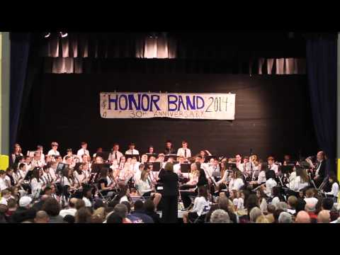 2014 Mid-Hudson Valley Catholic School Honor Band - Of Castles and Kings - 03/19/2014