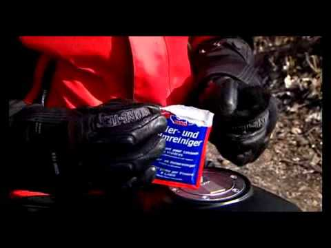 Sdoc100 Helmet and Visor Cleaner