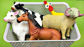 Farm animals name and sound - Kids Learning  Animals for kids