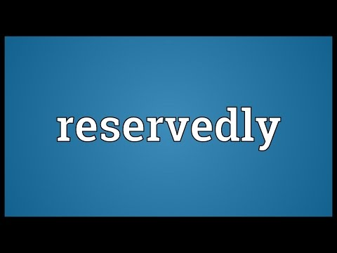 Header of reservedly