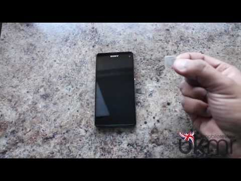Xperia Z1 Compact - How To Insert SIM