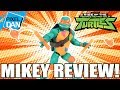 Michelangelo Rise of the TMNT Action Figure Video Review thumbnail