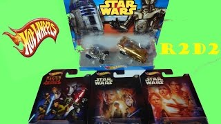 Star Wars Rebels HOT WHEELS Special Edition Rare - R2D2 Unboxing 5 cars