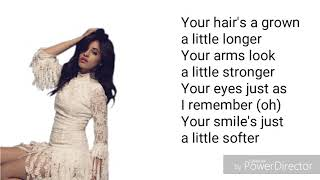 Camila Cabello - All these years (Lyrics)