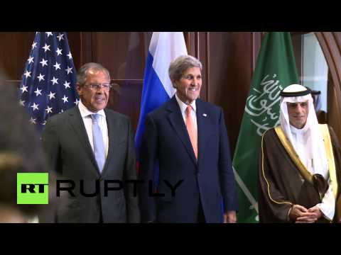 Qatar: Lavrov in Doha for talks with John Kerry and Saudi FM