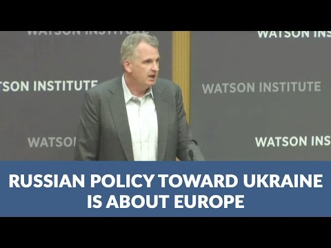 Russian policy toward Ukraine is about Europe
