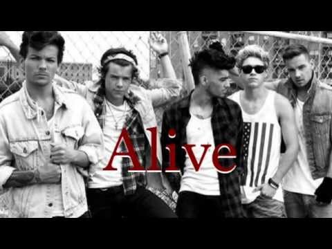 Alive- One Direction (lyrics & pictures)
