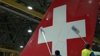 SWISS - New cleaning procedure for aircraft