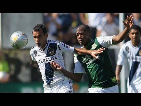 HIGHLIGHTS: David Beckham, Landon Donovan & LA Galaxy vs. Kris Boyd & Portland Timbers