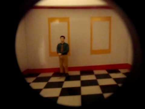 Ames Room Illusion Explanation