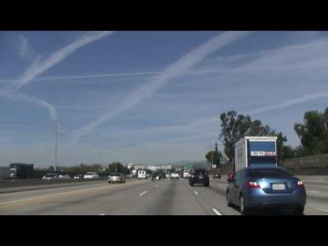 CA 57 North, I-5 To CA 60 East, Santa Ana To Diamond Bar Video