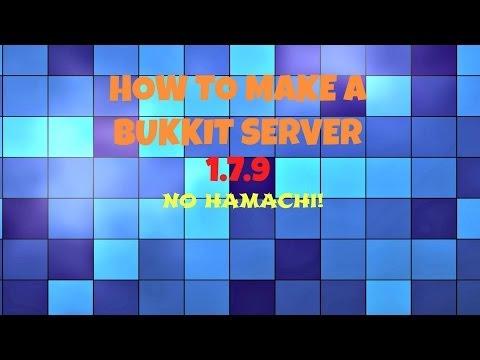 -HOW TO MAKE A CRAFTBUKKIT SERVER (1.7.9) MAC- (With PortForward-No Hamachi)