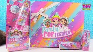 Party Pop Teenies Surprise Popper Blind Bag Doll Unboxing | PSToyReviews
