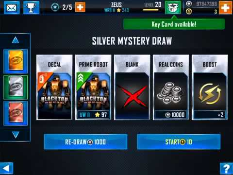 Real Steel Wrb Albino Real Steel Wrb Mystery Drawing