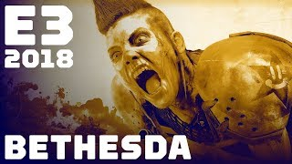 FULL Bethesda Press Conference - E3 2018