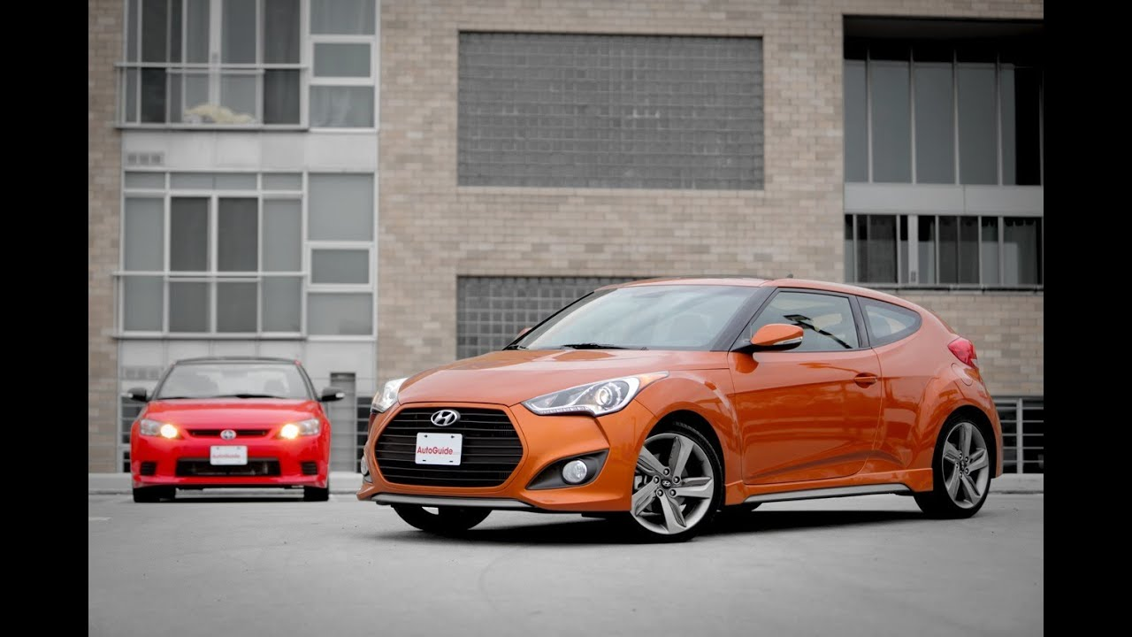 2013 Hyundai Veloster Turbo vs. 2013 Scion tC Release ...