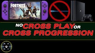 Playstation BLOCKS Crossplay and Cross Progression between PS4 and Nintendo Switch