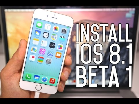 How To Install iOS 8.1.1 Beta 1 FREE Without UDID Registration