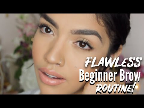 FLAWLESS Step By Step Eyebrow Routine 2019