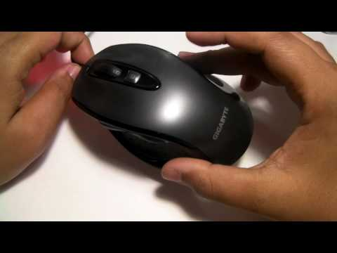 Gigabyte GM-M6800 Gaming Mouse Review