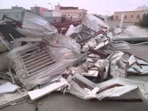 Shia Mosques Destruction in Bahrain تهديم المساجد
