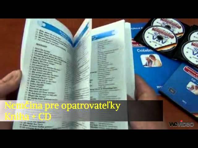 Nemčina pre opatrovateľky Kniha + CD/MP3