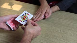 David Blaine Hand Sandwich Trick (Here then There) - Card Trick Tutorial