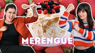 BOLO MERENGUE DE MORANGO feat JOYCE KITAMURA | TODO MUNDO CONTRA DANI | DANI NOCE RECEITA