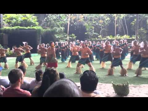 2013 Kapolei Highschool Samoan Dance at Polynesian Cultural Center