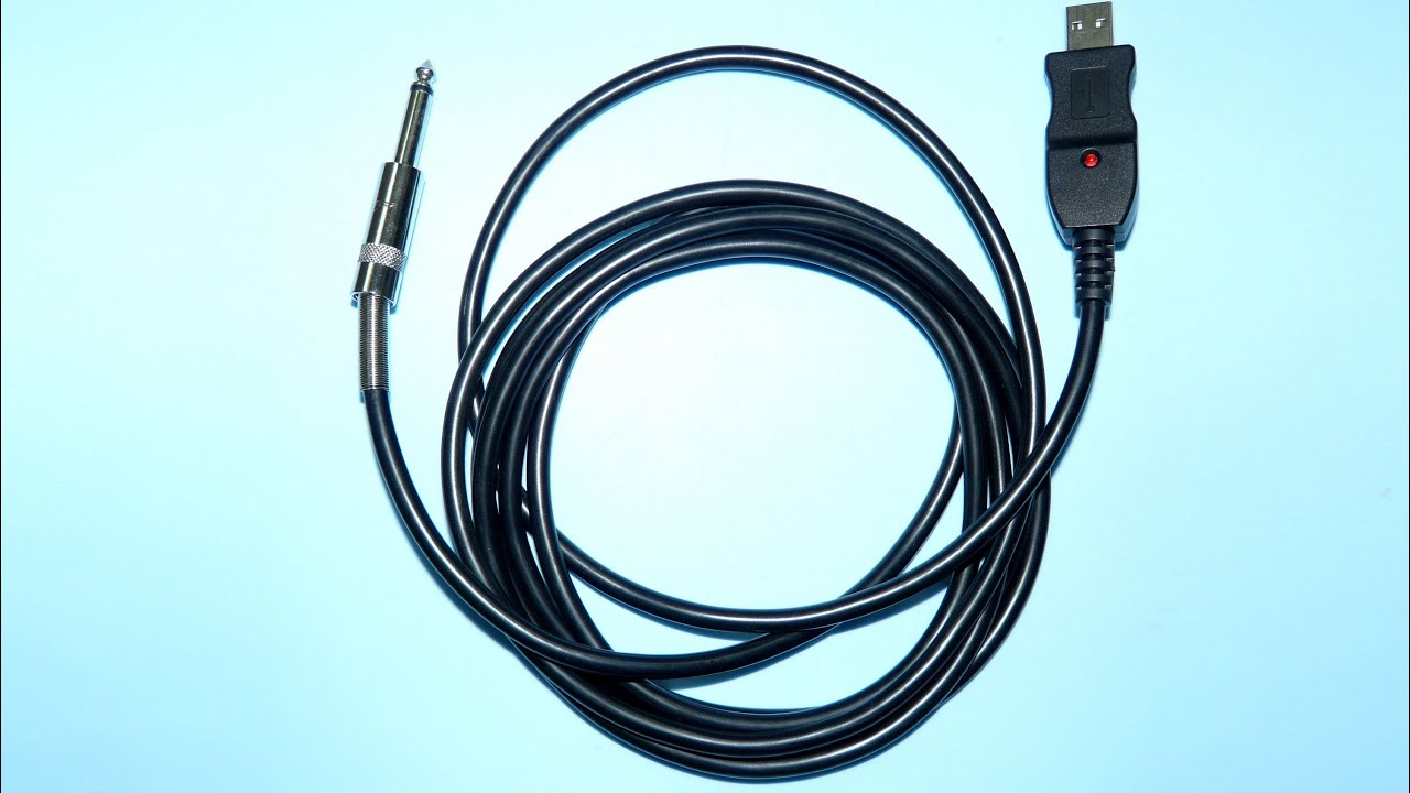 Как сделать кабель для гитары