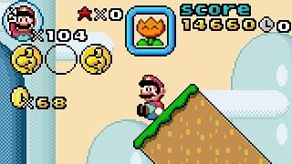 Super Mario Bros. X (SMBX 1.4.3) Script: ''SMW HUD REMASTERED'' .