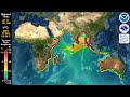 Tsunami Forecast Model Animation: Sumatra 2004