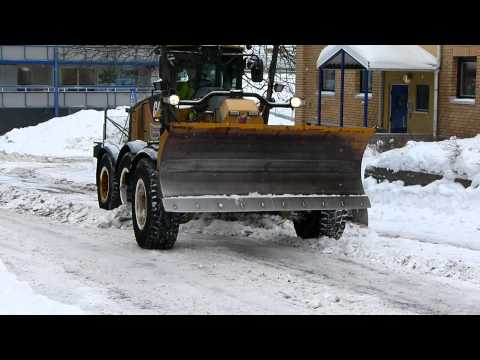 Cat 160M Snow Removal