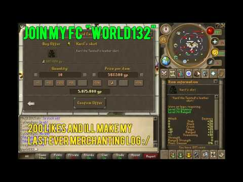 Runescape Grand Exchange Merchanting Guide With Freetrade With Commentary | Mikenike93