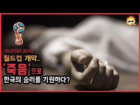 월드컵 개막.. '죽음'으로 한국이 승리를..?!#2018 러시아 월드컵 개막식#스웨덴 이기는법#대한민국 축구대표[닥파]