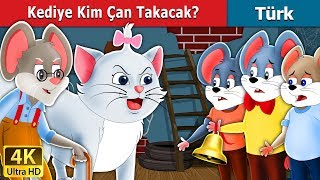 Kediye Kim Çan Takacak | Who will Bell the Cat Story in Turkish | Türkçe peri masallar