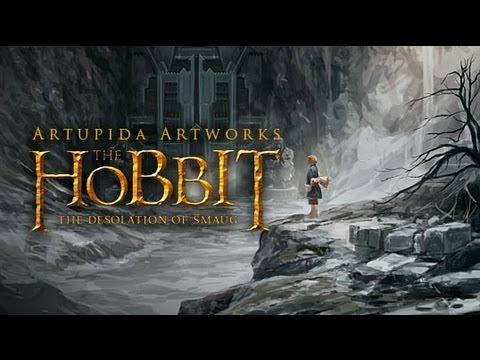 The Hobbit : The Desolation of Smaug Meets Digital Painting | SPEED PAINTING