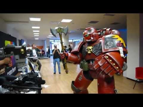 Blood Angels Space Marine at Svenska e-sportcupen 2013