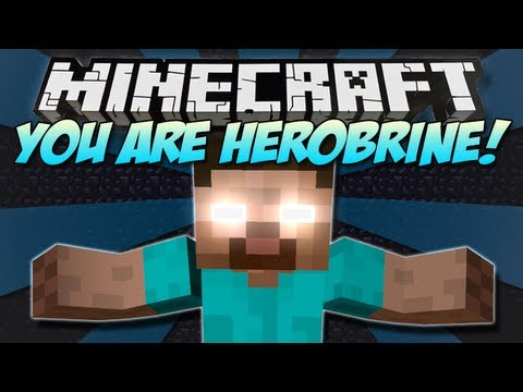 Minecraft | YOU ARE HEROBRINE! (YAH) | Mod Showcase [1.4.7]
