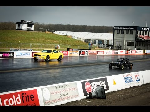 Santa Pod Drag Racing  - Pistonheads Sunday Service