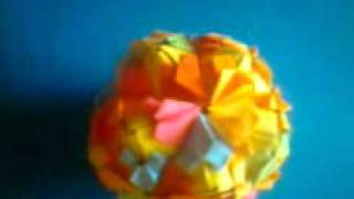 Origami Petal Globe And Loop