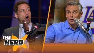 Chris Broussard on fans defacing another LeBron mural in L.A., Lakers additions   NBA   THE HERD