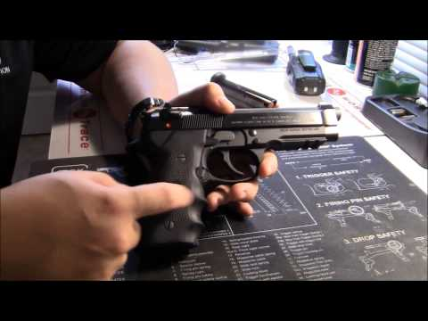 Beretta 92A1 Table Top Review