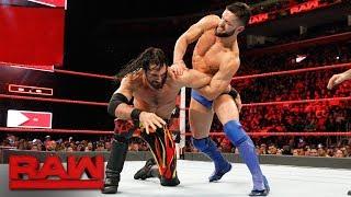 Seth Rollins vs. Finn Bálor: Raw, March 12, 2018